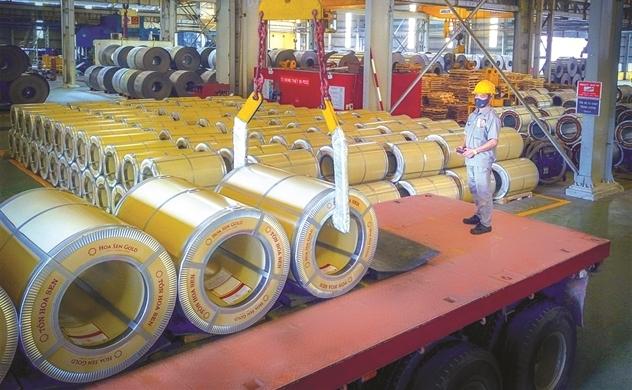 Cổ phiếu ngành thép vẫn