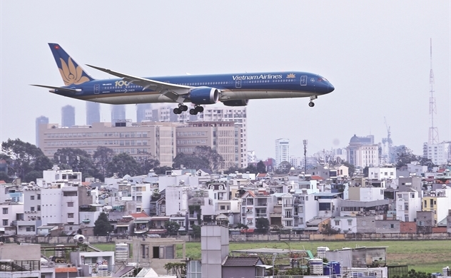 Vietnam Airlines qua vùng bay xấu?