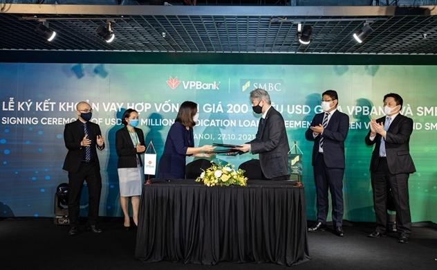 VPBank và SMBC tiếp tục ký kết thỏa thuận khoản vay hợp vốn trị giá 200 triệu USD
